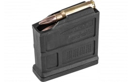 Magpul MAG549-BLK Pmag Bolt Action 7.62x51/308Win/7mm-08 Rem/6.5mm Crdmr/260 Rem/243 Win 5 Round Polymer Black