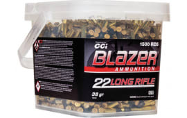 CCI 10025 Blazer 22LR 38 HP Bucket 1500 - 1500rd Box