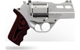 Chiappa 340308 Rhino 30DS 3 SS Fofs G10 Grips 6rd Revolver