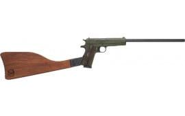 "Iver Johnson Arms IJ01ODRIFLE Johnson 1911A1 Rifle 16"" FS OD Green Wood"