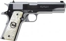 "Iver Johnson Arms G1911A1CHRWP Johnson 1911A1 5"""