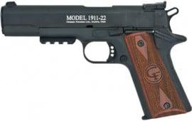 Chiappa 401105 1911-22 Target Pistol Semi Auto
