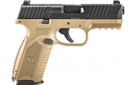 FN 66100358 509 NMS 10R FDE/Black