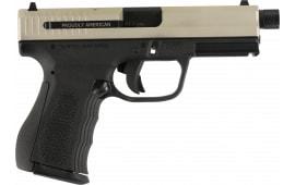 "FMK G9C1G2TSS 9C1 G2 Plus 4.5"" Barrel FAT 14rd Pistol Black/Silver"