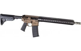 "Christensen Arms CA10290113522 CA15G2 CF .223 REM 16"" CF Burnt Bronze M-LOK"
