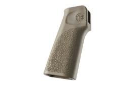 Hogue AR15 / M16 15° Vertical No Finger Groove Polymer FDE