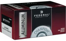 Federal CAL45230 45 230 FMJ Alum - 50rd Box