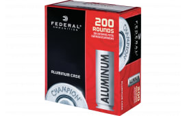 Federal CAL9115200 9mm 115 FMJ Alum - 200rd Box