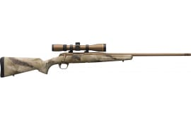 "Browning 035522294 X-BOLT HELL'S Canyon 6.5PRC 24"" BRONZE/AU Synthetic w/Leupold 4-12"