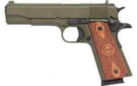 """Iver Johnson Arms 1911A1 O.d. Green Johnson 1911A1 5"""""""