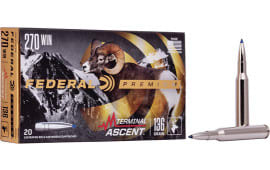 Federal P270TA1 270 136 Term Ascent - 20rd Box