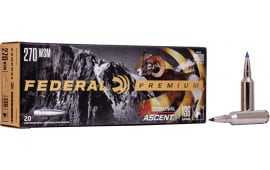 Federal P270WSMTA1 270WSM 136 Term Ascent - 20rd Box