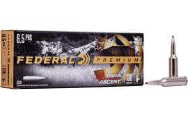 Federal P65PRCTA1 6.5 Creedmoor 130 Term Ascent - 20rd Box