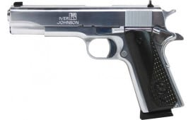 Iver Johnson Arms 1911A1CHROME38 Johnson 1911A1 .38 Super