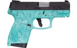 Taurus 1G2S931SP4 G2S 3.26 Cyan Splatter Paint Frame