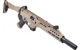 CZ USA 08548 Scorpion 16 FDE Faux Suppressor CA Compliant