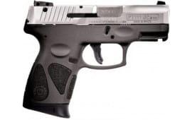 Taurus PT111 Millenium Pro G2 9mm Pistol SS/Gray 12+1 , 1-111039G2-12G