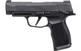 Sig Sauer 365XL9BXR3MS 365 3.7 Oprd MS 12rd Black