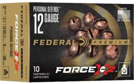 Federal PD12FX200 Force 12 00 Buck - 10sh Box
