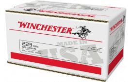 Winchester Ammo USA223L2 USA 223 *VP* 55 FMJ - 200rd Box