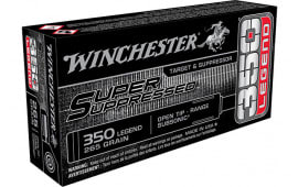 Winchester Ammo SUP350 350LEG SP Suppressed 255OT - 20rd Box