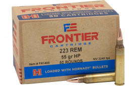 Frontier FR1405 .223 Remington 55 HP Match - 50rd Box