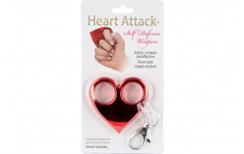 Pspi HA-RED Heart Attack KEY Chain RED