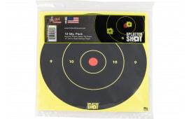 """Pro-Shot 12B-GREEN-TG12PK 12"""" Splatter Bullseye Green"""