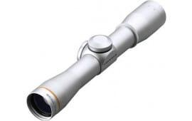 "Leupold 58760 Fx-ii 4x 28mm Obj 9 ft @ 100 yds FOV 1"" Tube Dia Silver Duplex"