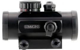 "Simmons 511304 Red Dot 1x 30mm Obj 3.75"" Eye Relief 3 MOA Black Matte"