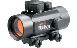Tasco BKRD3022 ProPoint Rimfire 1x 30mm Obj Unlimited Eye Relief 5 MOA Black Matte