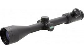 "Weaver Optics 849804 Kaspa 3-9x 40mm Obj 32.6-9.9 ft @ 100 yds FOV 1"" Tube Dia Black Matte Illuminated Dual-X Crosshair"