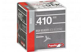 "Aguila 1CHB4138 Hunting High Velocity 410GA 2.5"" 1/2oz #8 Shot - 25sh Box"