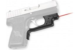 "Crimson Trace LG437 Laserguard Kahr 9/40 Poly Frame Red 633nm .5""@50ft Black"