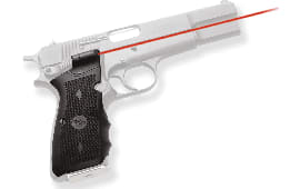 """Crimson Trace LG309 Lasergrips Browning HP Red 633nm .50""""@50ft Black"""