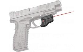 Crimson Trace DS123 Defender Red Laser Springfield Xd/xdm Trigger Guard