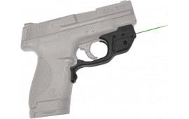 "Crimson Trace LG489G Laserguard S&W Shield Green 633nm .5""@50ft Black Poly"