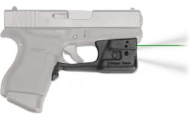 Crimson Trace LL803G Laserguard Pro Glock 42/43 Green Laser Trigger Guard
