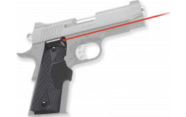 Crimson Trace LG401P4 Pro-Custom Lasergrips Red 1911 Full Size Poly Carbon Fiber