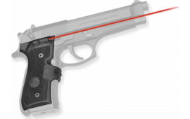 Crimson Trace LG402M Mil-Spec Lasergrips Red Beretta 92/96/M9A1 Black