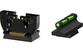 Hiviz RG1022 Litewave Set Ruger 10/22 Black Frm Front/Rear Green/Red