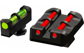 Hiviz Glock Target Sights All Glock Green/Red/White Front Green/Red/Black Rear Black