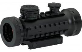 BSA STSRD30 Tactical 1x 30mm Obj Unlimited Eye Relief Black Matte