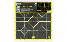 "Pro-Shot 8SI-GREEN-6PK 8"" Splatter Sightin Green"