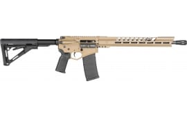 "Diamondback DB15BGFDE 15ML 16"" Black/GLD 30rd FDE"