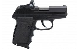 SCCY CPX-2CBRD Black/BLK Nosafe Red Dot 10R