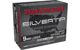 Winchester Ammo W9MMST 9mm 115 STHP - 20rd Box