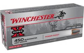 Winchester Ammo X4501 450 Bush 260PP - 20rd Box