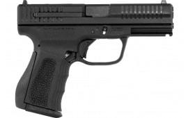 "FMK G9C1EPRO Elite Pro Single 4"" 14+1 3-Dot/Red Dot Black Polymer Grip/Frame Black Carbon Steel"