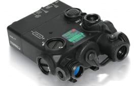 Steiner DBAL-I2 Dual Beam Aiming Laser - Red Laser - 0.7mW/5mW - Black Body- 9004